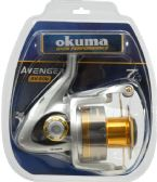 2 Units of Okuma AVENGER 80B SPIN REEL CLAM PK - Fishing - Reels