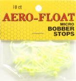 48 Units of Aerojig Company AEROFLOAT BOBBERSTOP 10CT - Fishing - Terminal