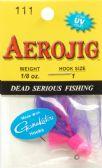 44 Units of Aerojig Company AEROJIG MARABOU 1/8OZ #111 - Fishing - Terminal