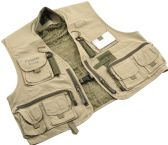 5 Units of Crystal River C/R UTILITY VEST TAN MED - Fixtures - Fixtures