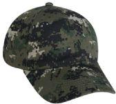 26 Units of Outdoor Cap DIGITAL CAMO CAP OLIVE - Hunting - Hunting Apparel