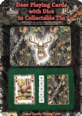 12 Units of River'S Edge CAMO/DEER CARDS/DICE GIFT TIN - Sports Licensing and Gifts - Gifts and Lifestyle