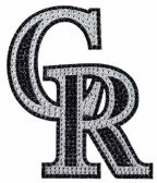 23 Units of MLB Rockies Bling Emblem - Sports Licensing and Gifts - Sports Licensing