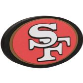 12 Units of NFL 49ERS 3D FOAM LOGO - Sports Licensing and Gifts - Sports Licensing