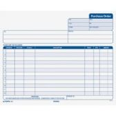 TOPS Carbonless Purchase Order Forms - Order book