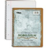 TOPS College-ruled Second Nature Notebook - Notebooks