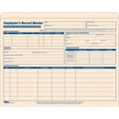 TOPS Employee Record Master File Jackets - File Folders & Wallets