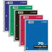 TOPS One-subject Wirebound Notebook - Notebooks