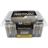 48 Units of Rayovac ALAA-24F Mercury Free Alkaline Batteries, AA 24 pk - Office Supplies