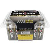 48 Units of Rayovac ALAAA-24F Mercury Free Alkaline Batteries, AAA 24 Pk - Office Supplies