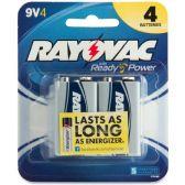 45 Units of Rayovac Alkaline 9 Volt Batteries - Office Supplies