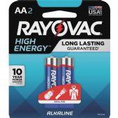 240 Units of Rayovac Alkaline AA Batteries - Office Supplies