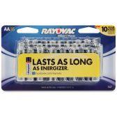 24 Units of Rayovac Alkaline AA Batteries - Office Supplies