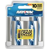 72 Units of Rayovac Alkaline General Purpose Battery - Batteries