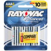 72 Units of Rayovac Multipurpose Battery - Batteries