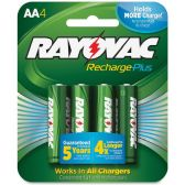 42 Units of Rayovac PL715-4B Rechargeable AA Battery - Batteries