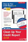 Clean Up Your Credit File, CD Version - File Folders & Wallets