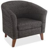Lorell Fabric Club Armchair - Office Chairs
