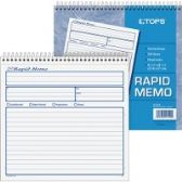 30 Units of TOPS Rapid Memo Book - Office Supplies
