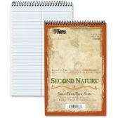 TOPS Second Nature Spiral Reporter/Steno Notebook - Notebooks