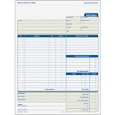 TOPS Three-part Carbonless Job Invoice Forms - Office Supplies
