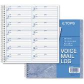 TOPS Voice Message Log Book - Office Supplies