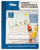 """24 Units of TOPS™ Primary Journal, 9-3/4"""" x 7-1/2"""", Primary Rule, Blue Cover, 80 SH/BK - Office Supplies"""