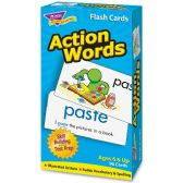 Trend Action Words Skill Drill Flash Cards - Classroom Learning Aids
