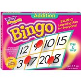 Trend Addition Bingo Game - Classroom Learning Aids