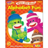 Trend Alphabet Fun Sock Monkeys Book Learning Printed Book - Classroom Learning Aids