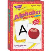 Trend Alphabet Match Me Flash Cards - Classroom Learning Aids