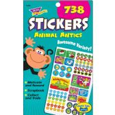126 Units of Trend Animal Antics Sticker Pad - Note Books & Writing Pads