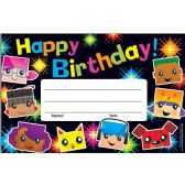 192 Units of Trend Birthday BlockStars Recognition Awards - Office Supplies