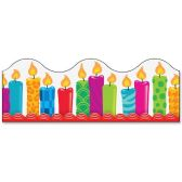 Trend Birthday Candles Board Trimmers - Classroom Learning Aids