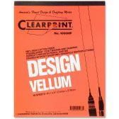 ClearPrint Plain Vellum Pad - Note Books & Writing Pads