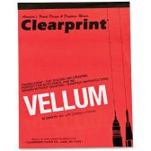35 Units of ClearPrint Vellum Pad - Note Books & Writing Pads