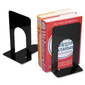 """198 Units of CLI 9"""" Nonskid Bookends - Office Supplies"""