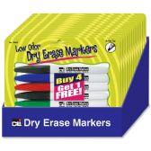 CLI Dry Erase Markers Set Display - Dry erase