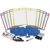 CLI Dry-erase Pocket Class Pack - Office Supplies