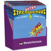CLI Extra Stretcheroos Book Cover Display - Office Supplies