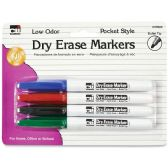 CLI Low Odor Dry Erase Markers - Dry erase