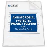 50 Units of C-line Anti-Microbial Project Folder - Folders & Portfolios