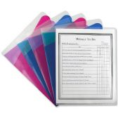132 Units of C-line Assorted Color Multi-Section Project Folders - Folders & Portfolios