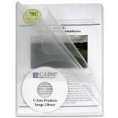 26 Units of C-line Clear Multi-Section Project Folders - Folders & Portfolios