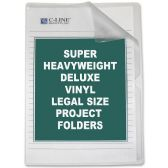 C-line Deluxe Non-Glare Vinyl Project Folder - Folders & Portfolios