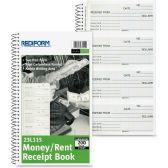 66 Units of Rediform Money/Rent Unnumbered Receipt Book - Receipt book