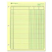200 Units of Rediform National Side Punched Analysis Pad - Note Books & Writing Pads