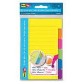168 Units of Redi-Tag 4x6 Sticky Ruled Divider Notes - Tags