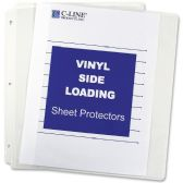 C-line Side Loading Sheet Protector - Sheet protector