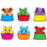 Trend Blockstar Buddies Mini Accents Variety Pack - Classroom Learning Aids